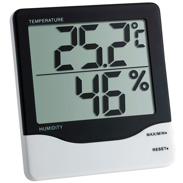 Термогигрометр цифровой для измерения температуры и влажности воздуха