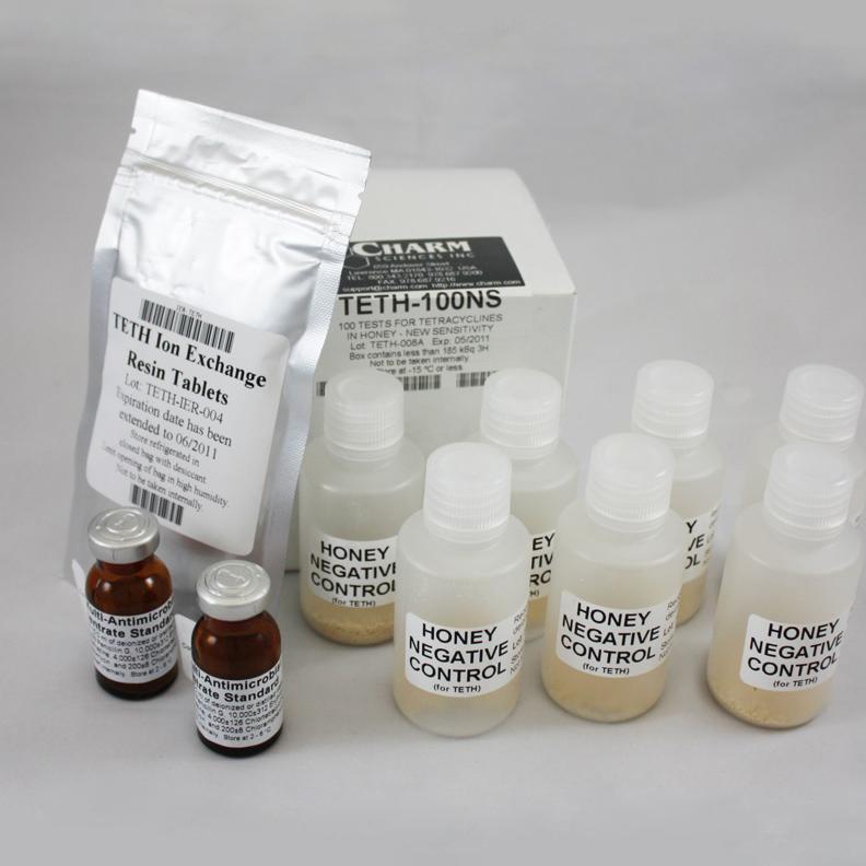 CHARM тесты для определения антибиотиков в мёде
