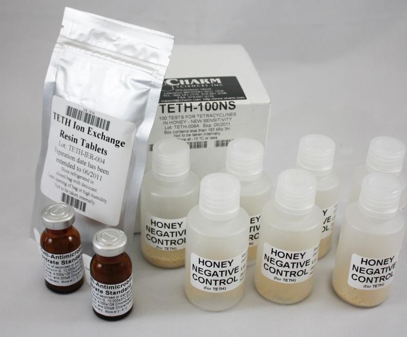 Тесты для определения антибиотиков в мёде