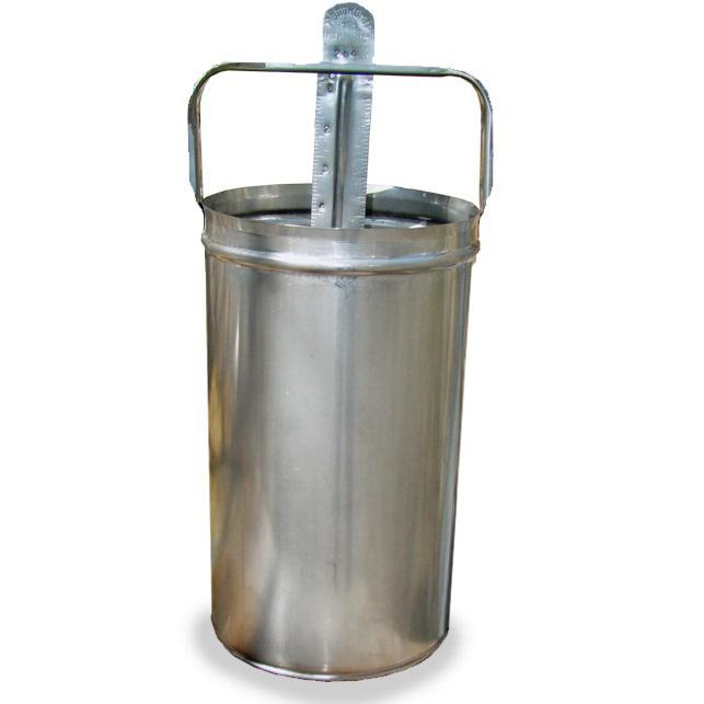Молокомер 10 литров (нержавейка)