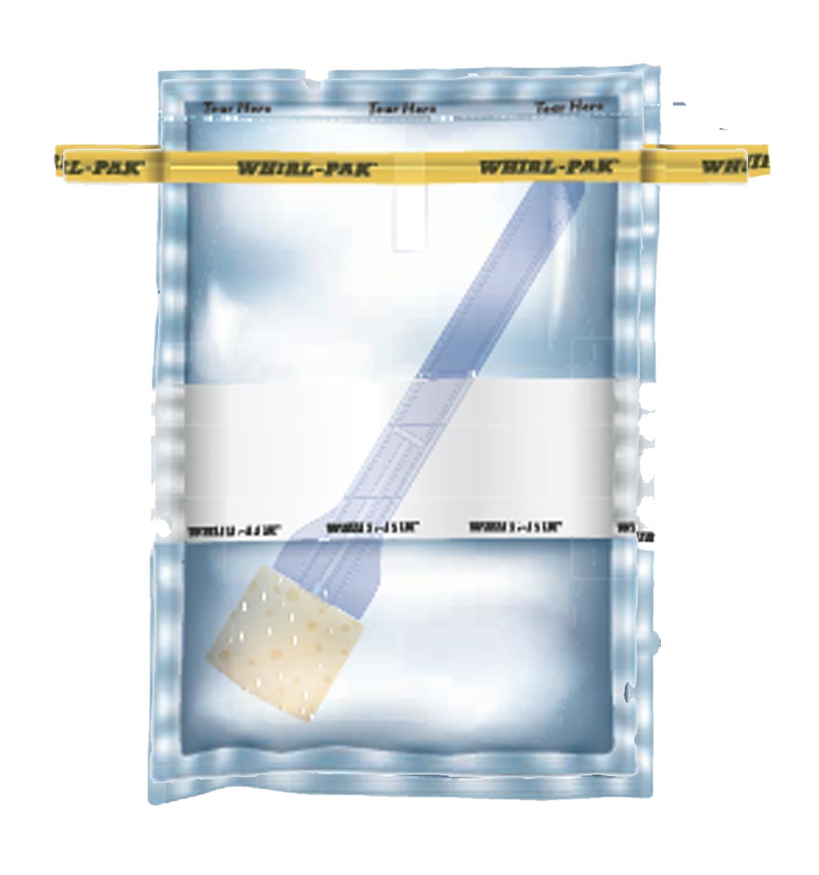 Стерильные пакеты для отбора проб Whirl-Pak для смывов с поверхности