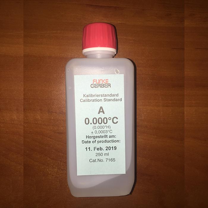 Калибровочный стандарт Funke Gerber A -0.000 C