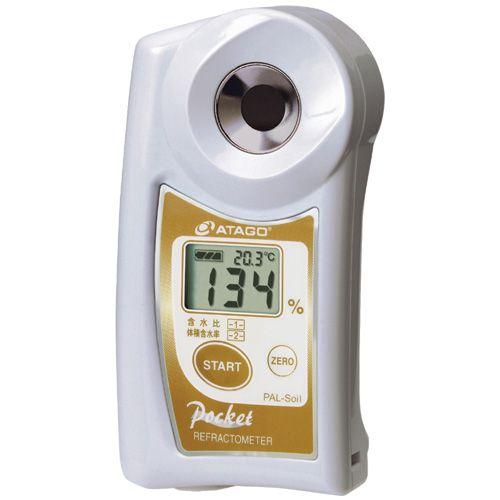ATAGO рефрактометр для измерения влажности почвы PAL-Soil