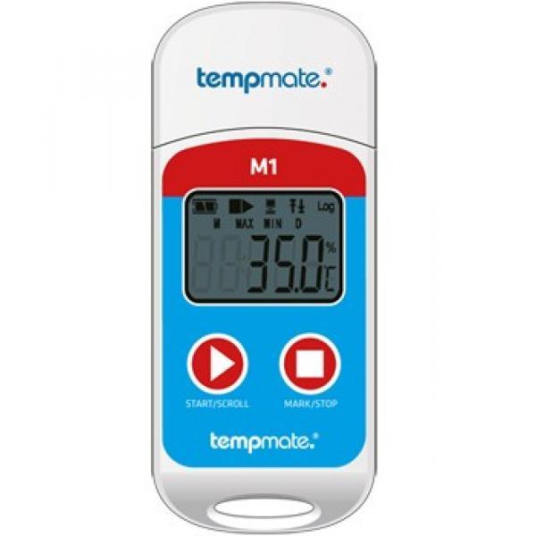 Регистратор температуры tempmate-M1