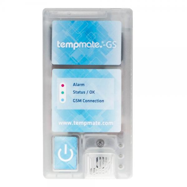 Регистратор температуры/влажности/освещенности/вибрации tempmate.®-GS