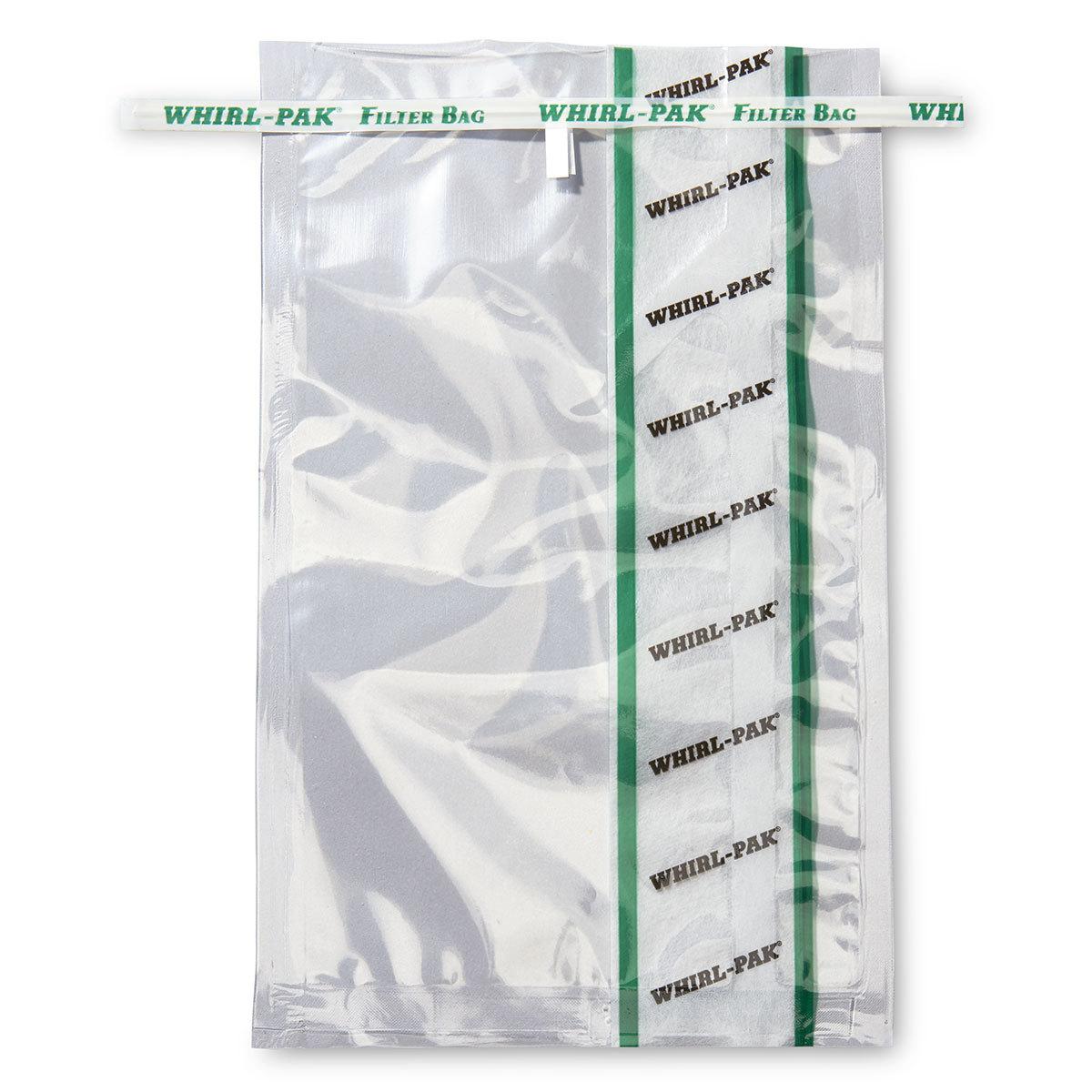 Стерильные пакеты для проб с вертикальным фильтром и боковым уплотнителем Whirl Pak (1627 мл)