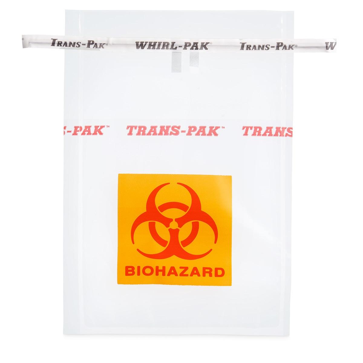 Whirl-Pak® нестерильные пакеты для опасных образцов без поля для надписи Trans-Pak®(710 мл)