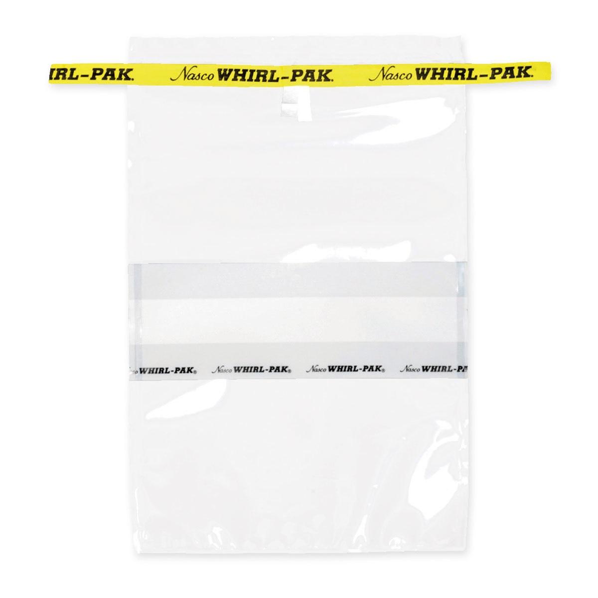 Стандартные стерильные пакеты для отбора проб с полем для надписи Whirl Pak (710 мл)
