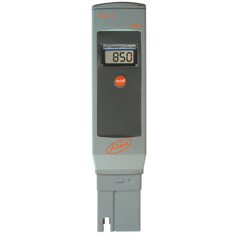 Влагозащищённый ТДС-метр ADWA AD201 (0 — 1999 ppm) с АТС