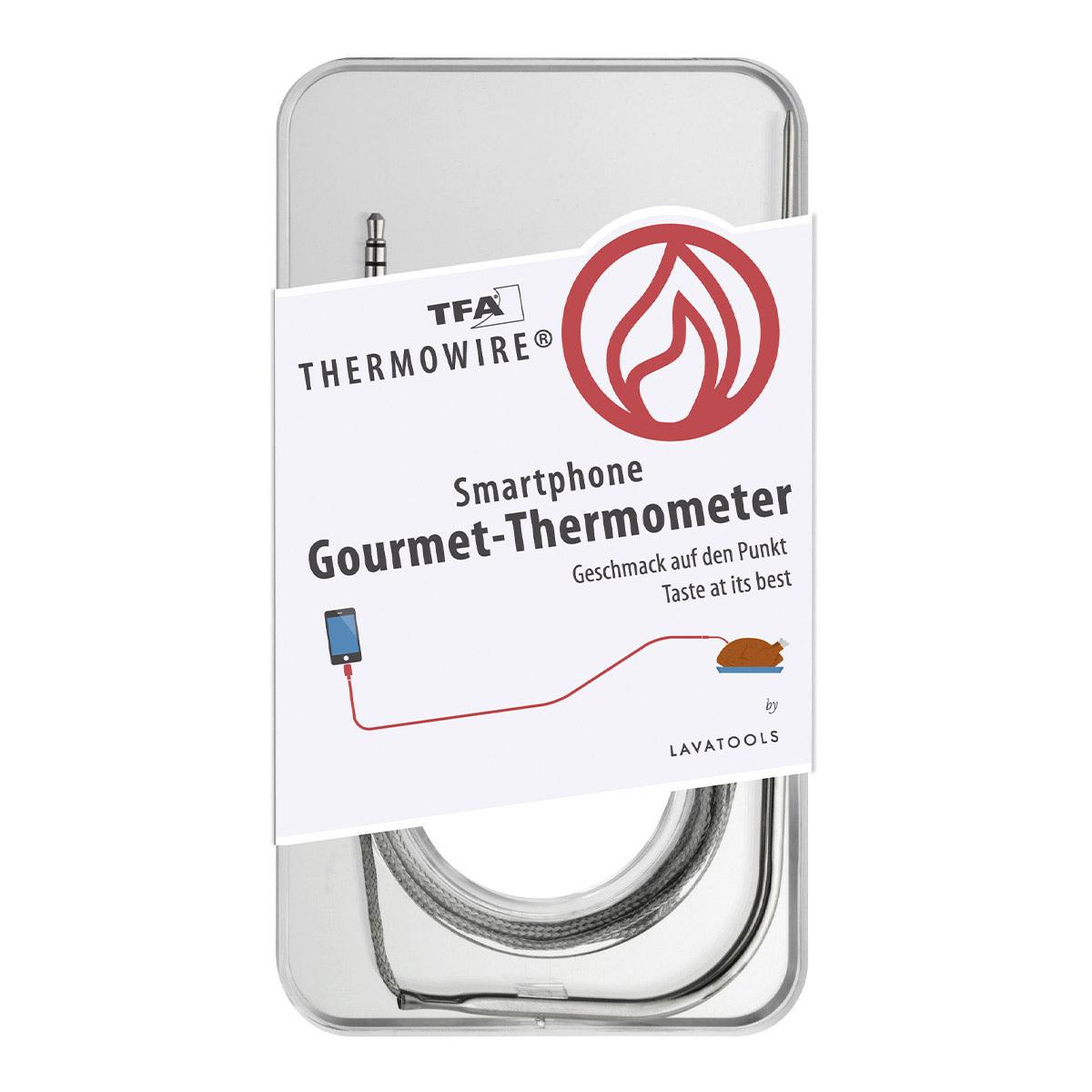 Термометр для гурманов для смартфонов THERMOWIRE TFA