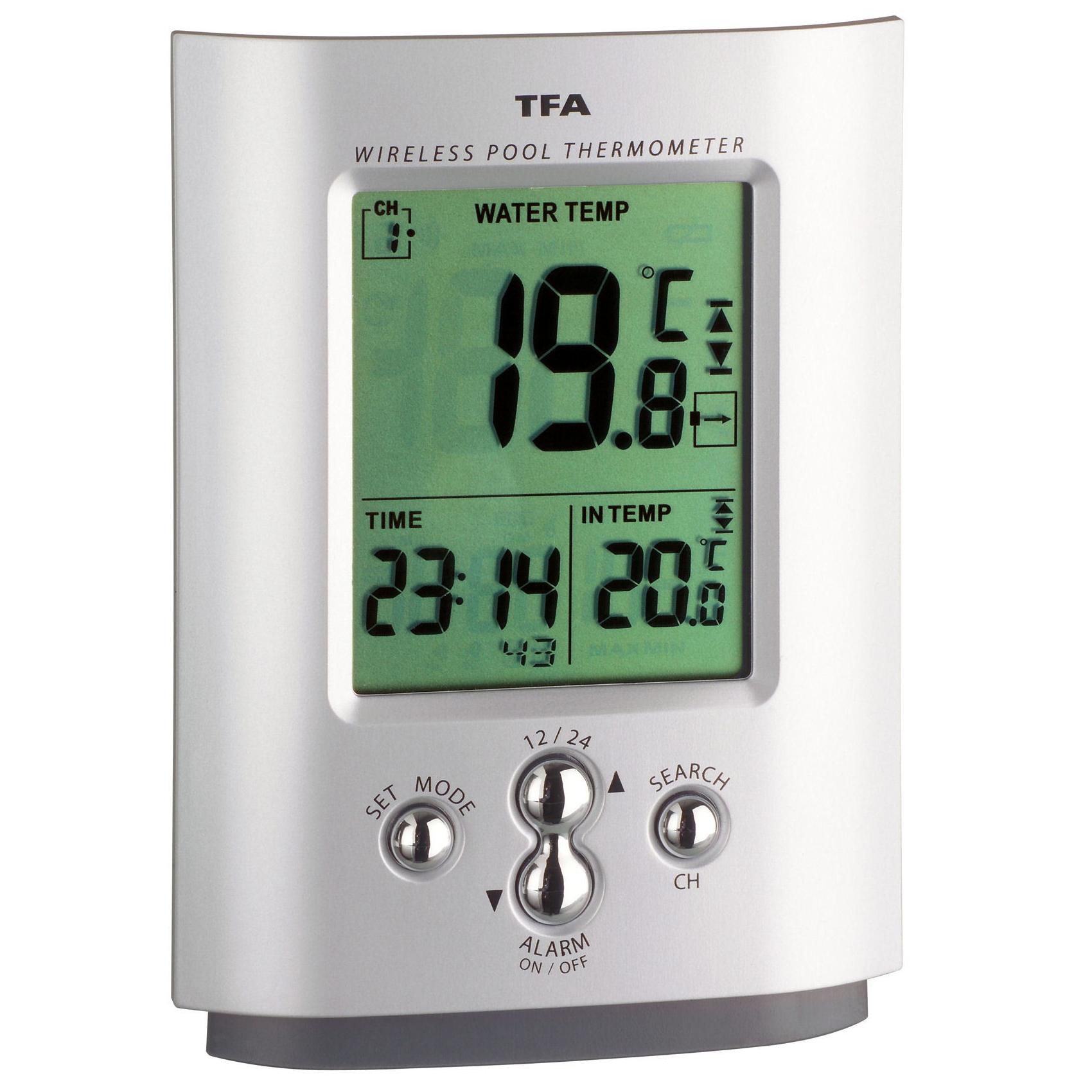 Беспроводной термометр для бассейна MIAMI TFA