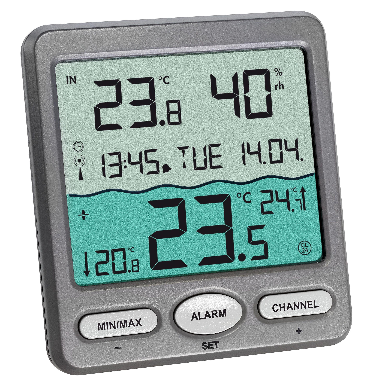 Беспроводной термометр для бассейна ВЕНЕЦИЯ TFA