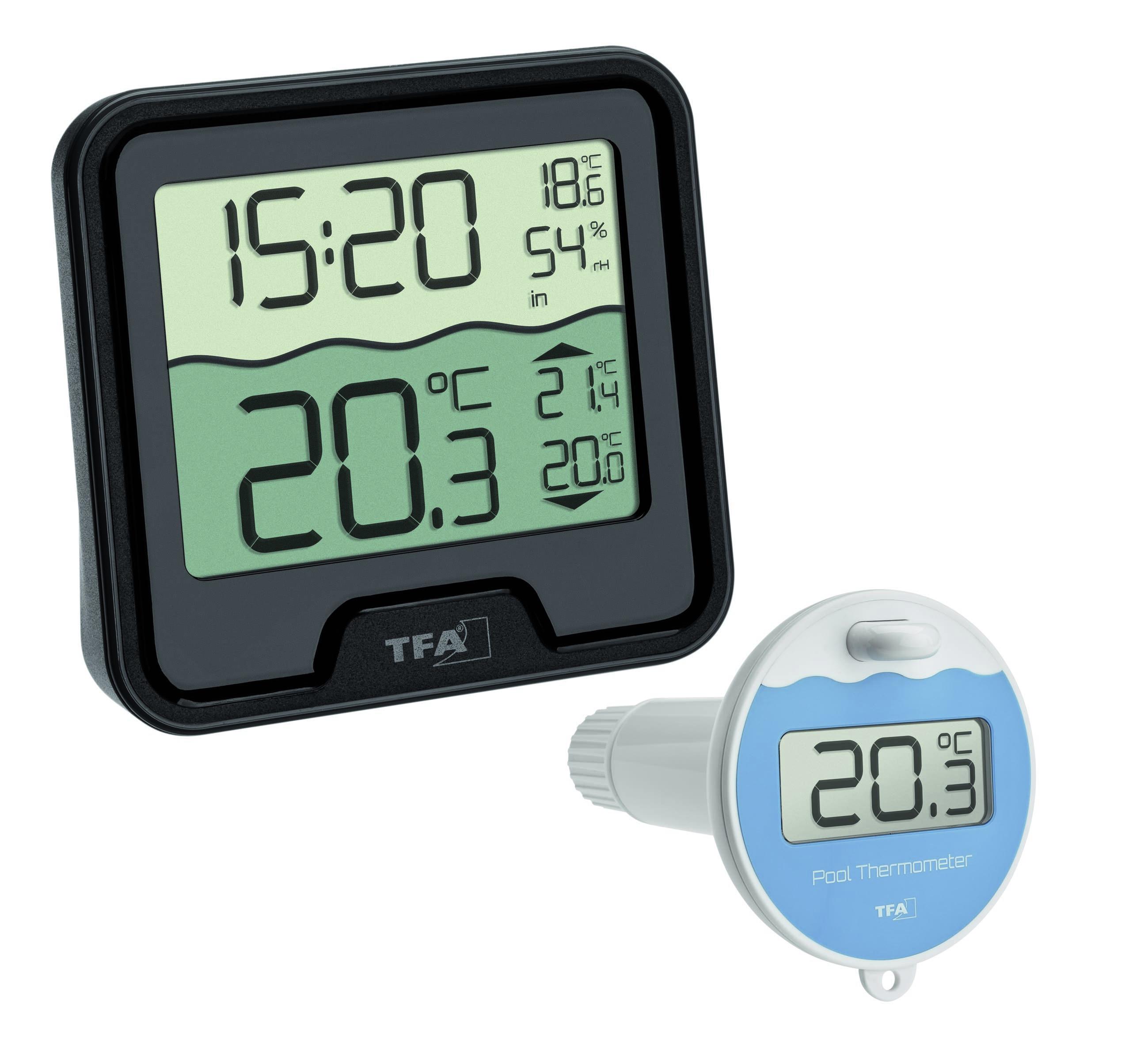 Беспроводной термометр для бассейна MARBELLA TFA