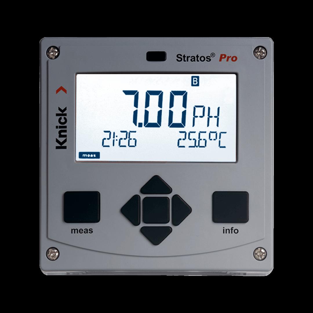 Промышленный преобразователь рН, ОВП, проводимости и кислорода Knick Stratos Pro