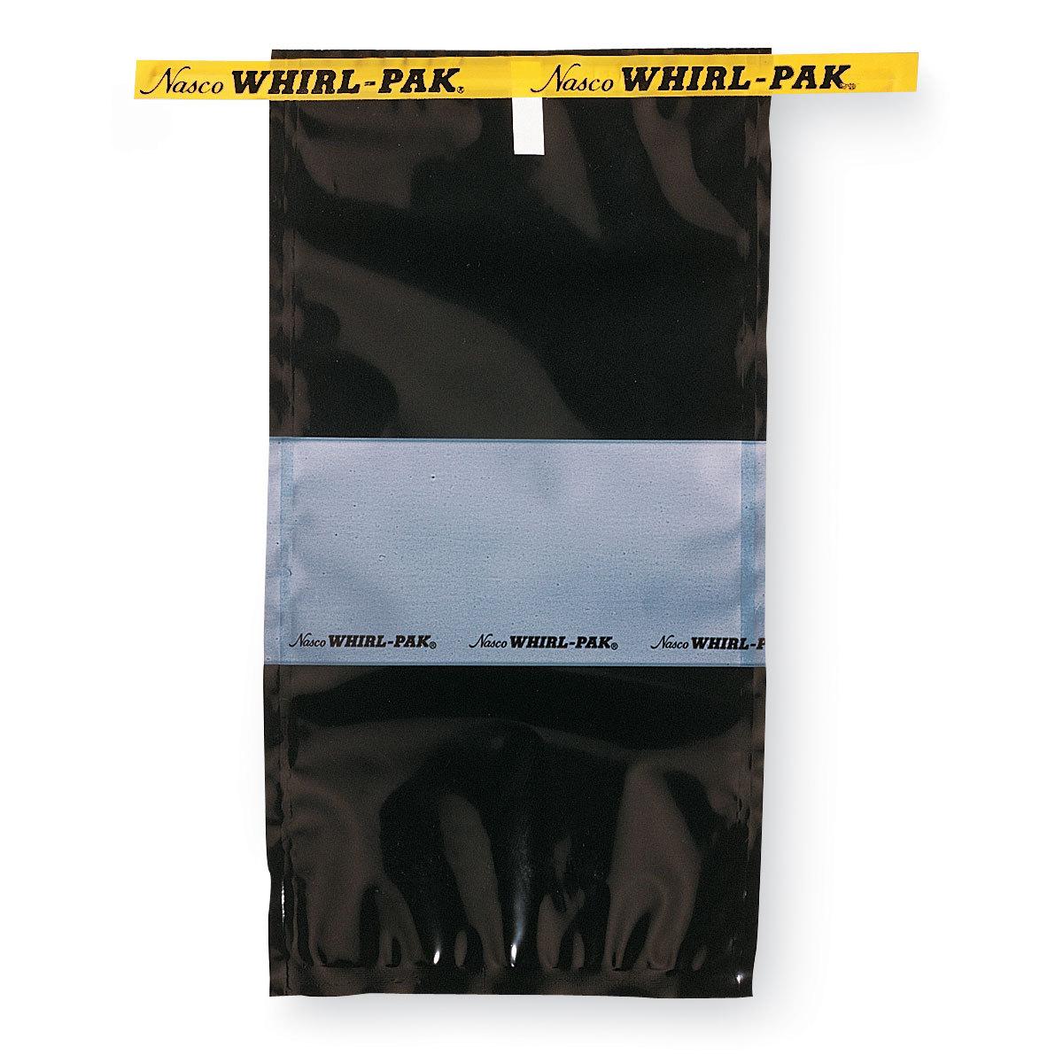 Специальные стерильные пакеты для отбора проб Whirl Pak чёрные (532 мл)