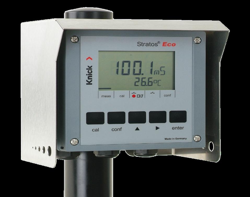 Индуктивный измеритель проводимости Knick Stratos Eco 2405 CONDI