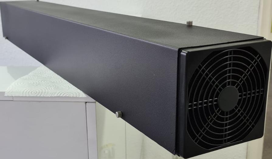 Рециркулятор воздуха бактерицидный обеззараживатель воздуха медицинский Аэрэкс MEDNOVA Декор 30 черный