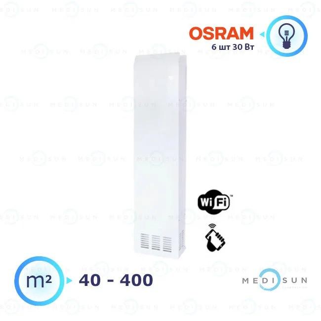 Рециркулятор бактерицидный медицинский рециркулятор воздуха АЭРЭКС-ПРОФЕШИН 560 с WiFi Завет, лампа Osram
