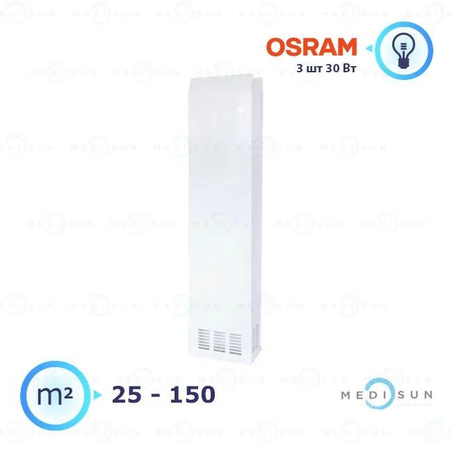 Бактерицидный рециркулятор воздуха, обеззараживатель для дома и офиса АЭРЭКС-ПРОФЕШИН 360 Завет, лампа Osram