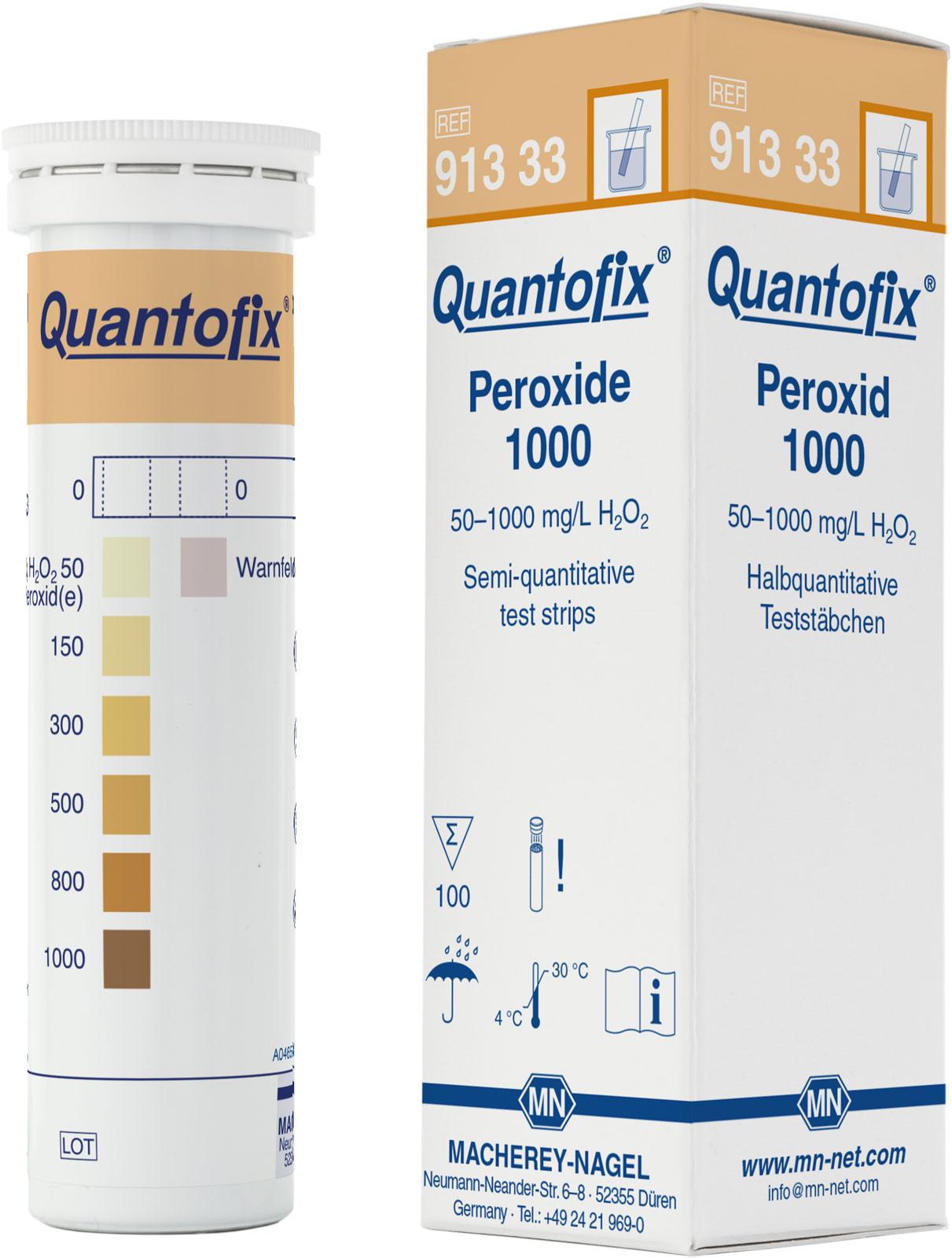 Тест-полоски QUANTOFIX Peroxide 1000