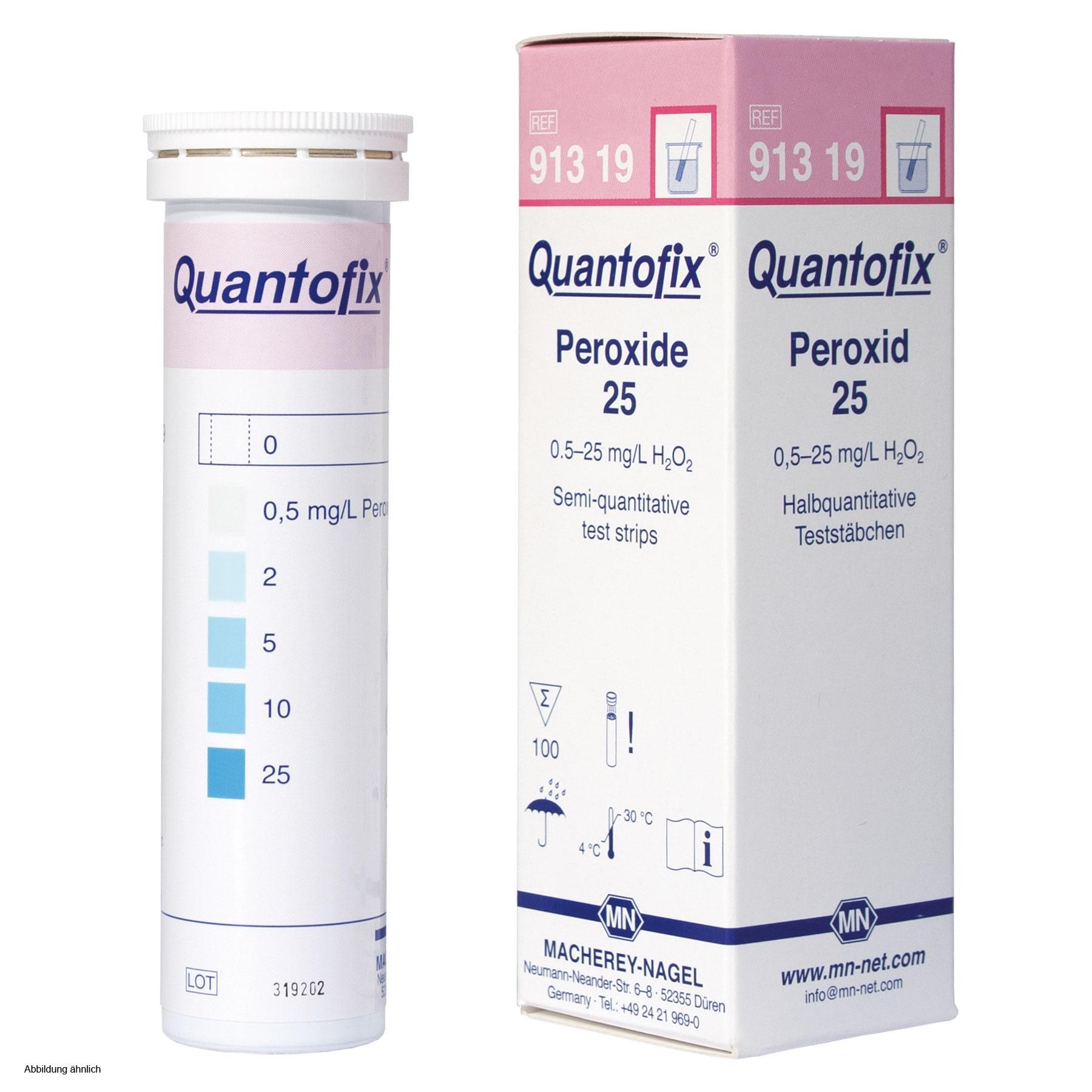 Тест-полоски QUANTOFIX Peroxide 25